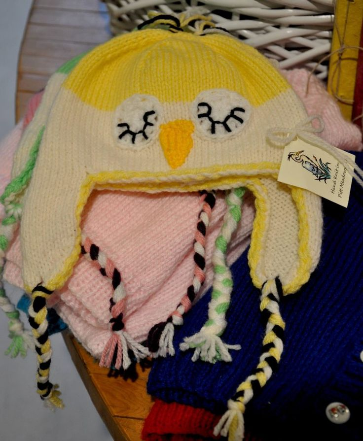 Laura Stark knitted hat