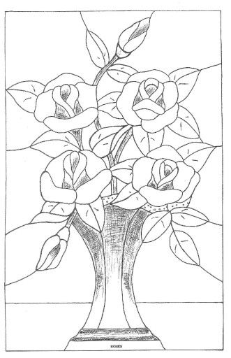 10 Images About Stained Glass Flowers On Pinterest Rose