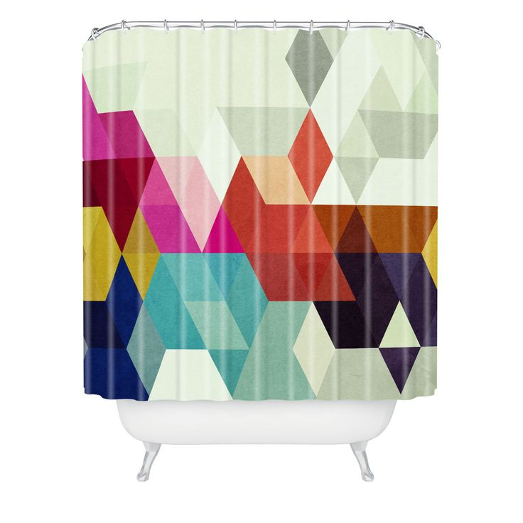 Three Of The Possessed Modele 7 Shower Curtain | DENY Designs Home Accessories