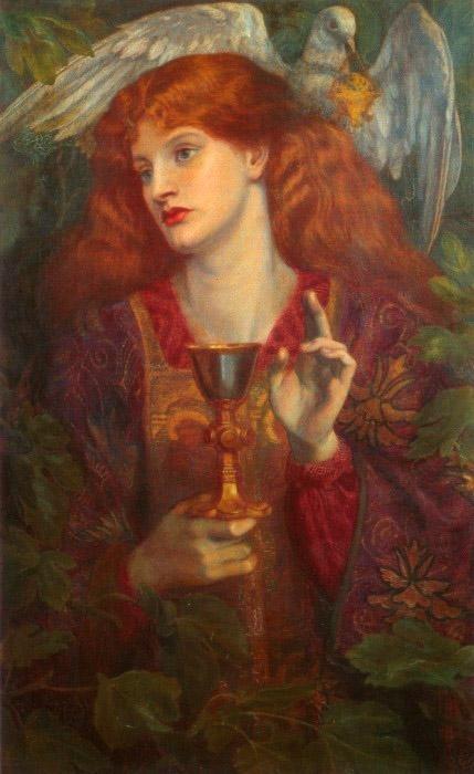 Dante Gabriel Rossetti - le Saint Graal