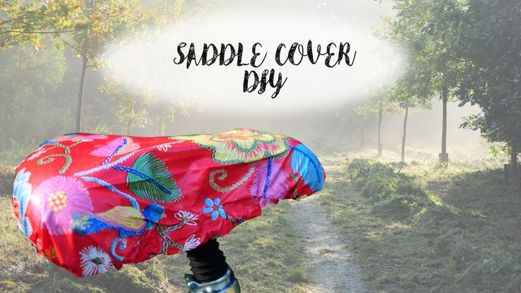 how to make a saddle cover