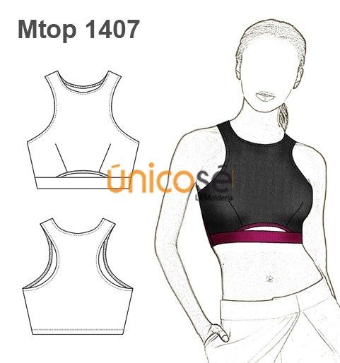 TOP MUSCULOSA MUJER