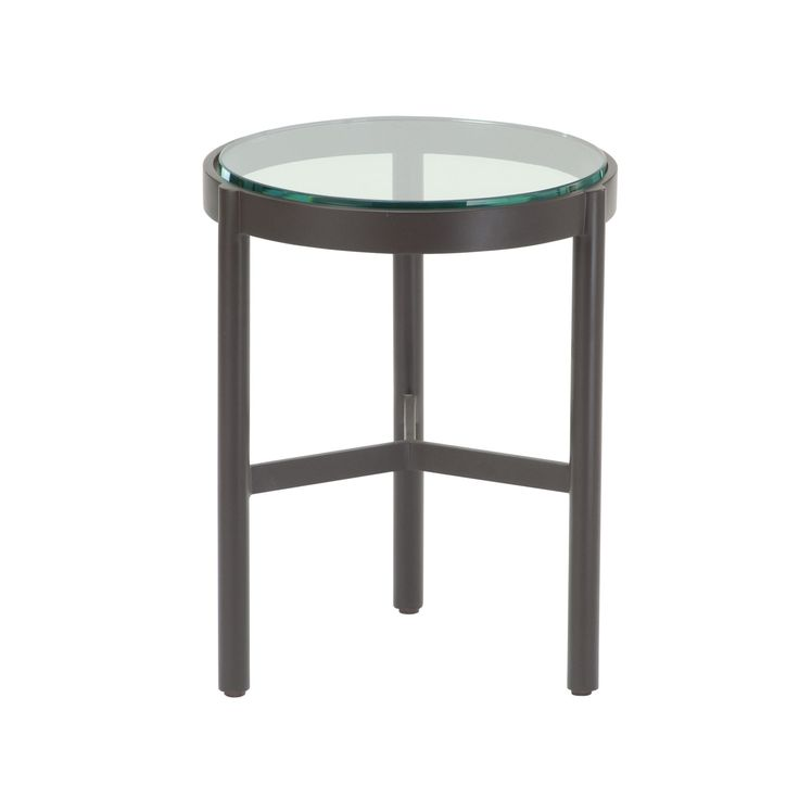 Buy Thomas Pheasant Outdoor Spot Table by McGuire Furniture - Quick Ship designer Furniture from Dering Hall's collection of Contemporary Traditional Transitional Side & End Tables.