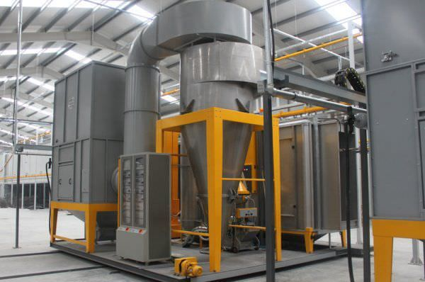 powder coating is thicker than a liquid paint coating, the item coated may not fit into the same space it came from.
