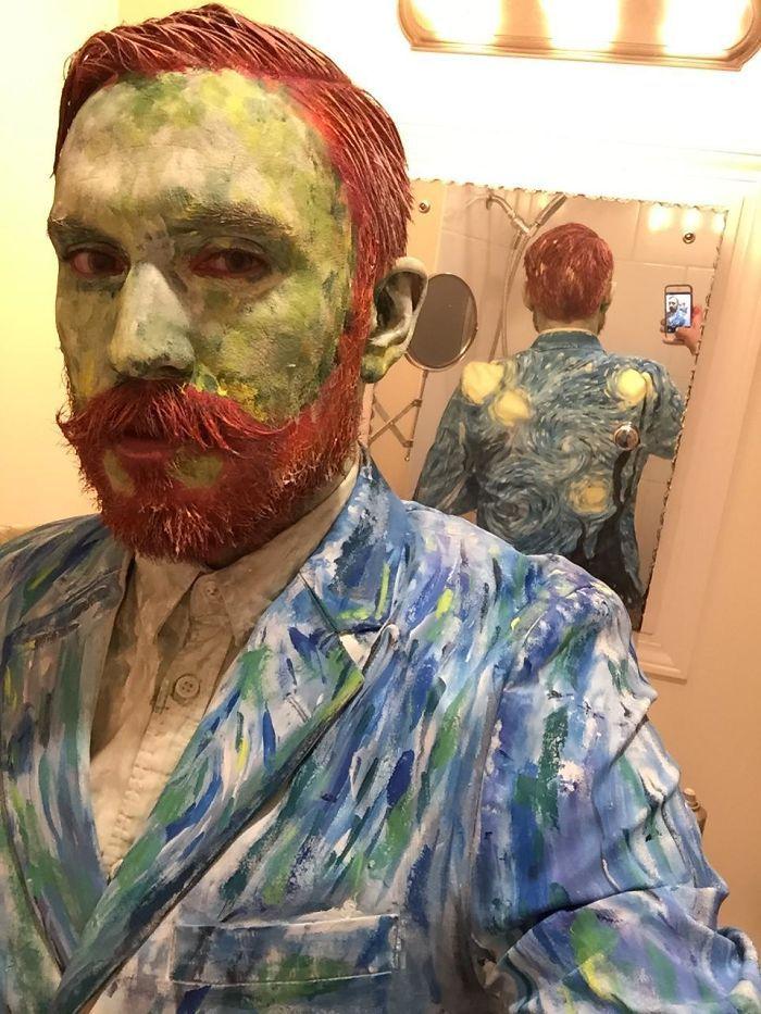 Van gogh's Starry Night Halloween costume