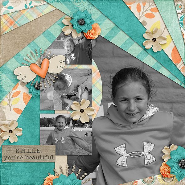 Smile Lolly Bag PU - See The Beauty by Fayette Designs Template:  Dovetail Templates by Little Green Frog Designs