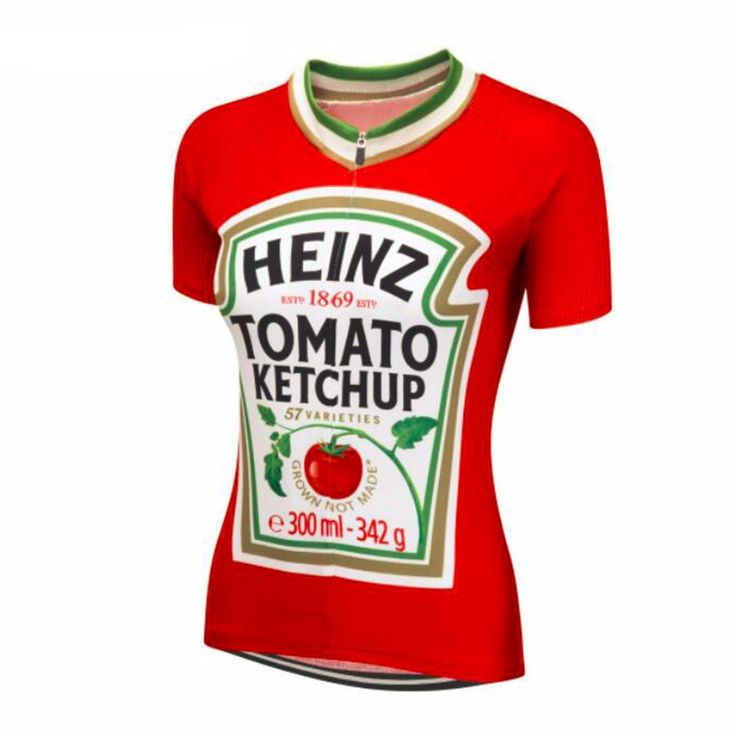 Women's Tomato Ketchup Cycling Jersey – Online Cycling Gear