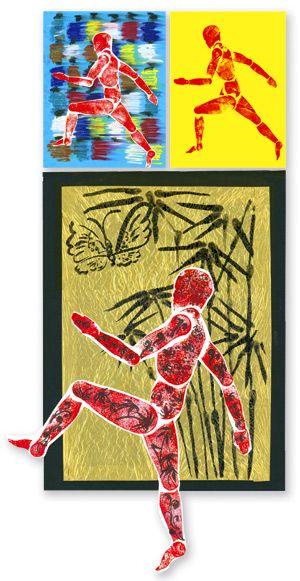 Olympic/Commonwealth Games | Easy Art Craft Activities | Primary School Activities | Art activities for children/students/kids | Teacher Art...
