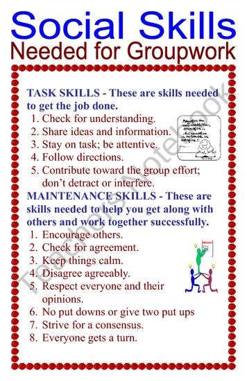 17  best images about social skills  learning in a group or whole class on pinterest