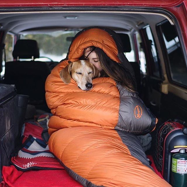 Just close your eyes and pretend that it's not Monday. #campingwithdogs @thiswildidea