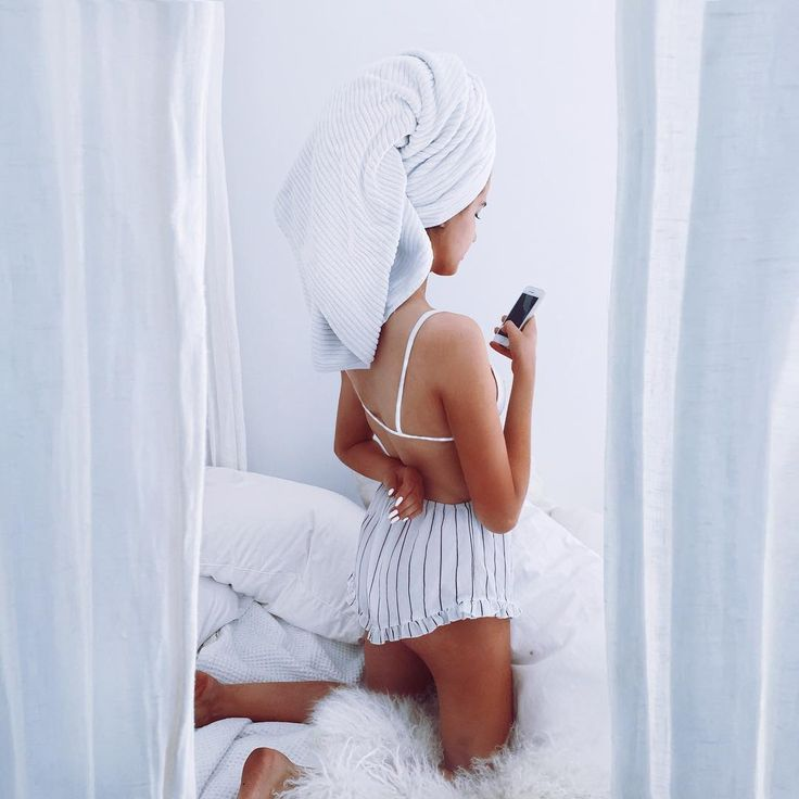 When you get out of the shower to get dressed then only play on your phone for hours in your wet towel.
