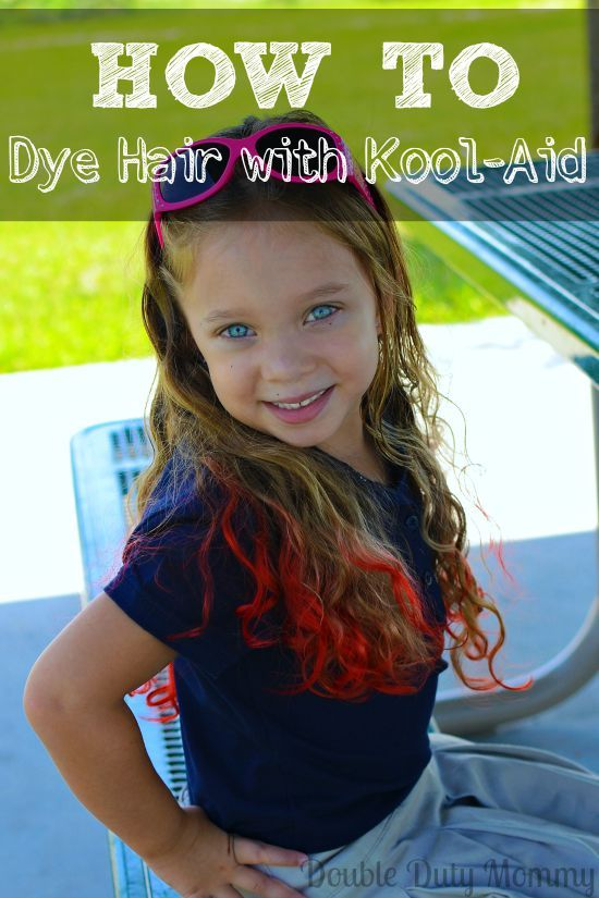 How To Dye Hair With KoolAid Mix