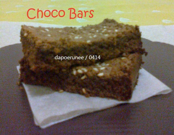 dapoerunee : Choco Bars