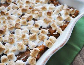Ryan Bakes: Lightened Sweet Potato Casserole