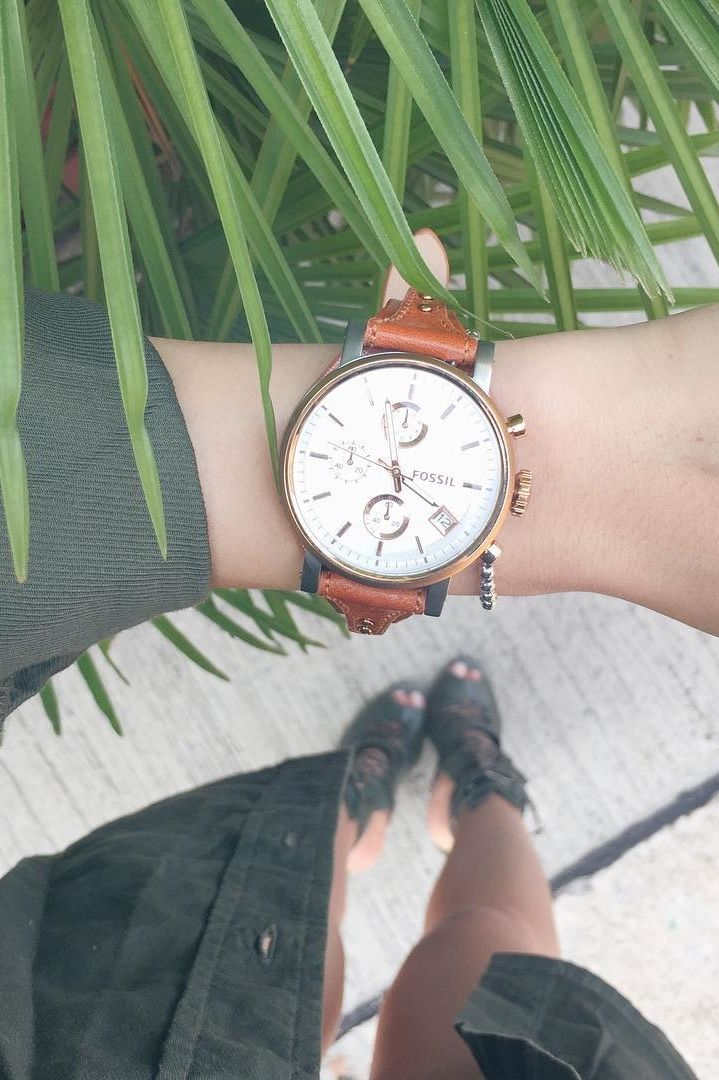 #fossil always winning the watch game.