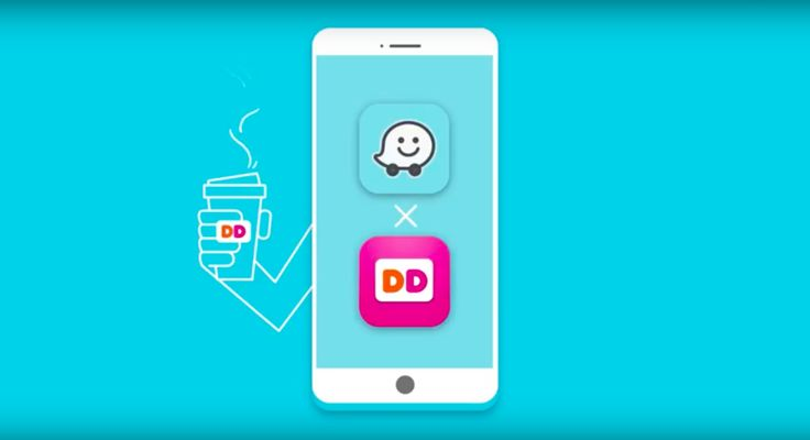 Dunkin Donuts debuts with Waze's Order Ahead feature to boost brand loyalty Dunkin Donuts is the debut partner with Waze to launch a service that lets consumers order from within the real-time crowdsourced traffic and navigation app a move it hopes will further brand loyalty.
