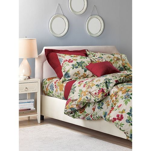 King Size Multi Whipporwill Sheet Set From Linen Source On