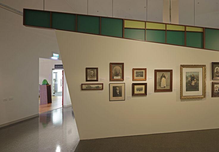 Inside the temporary gallery. Copyright Richard Wotton.