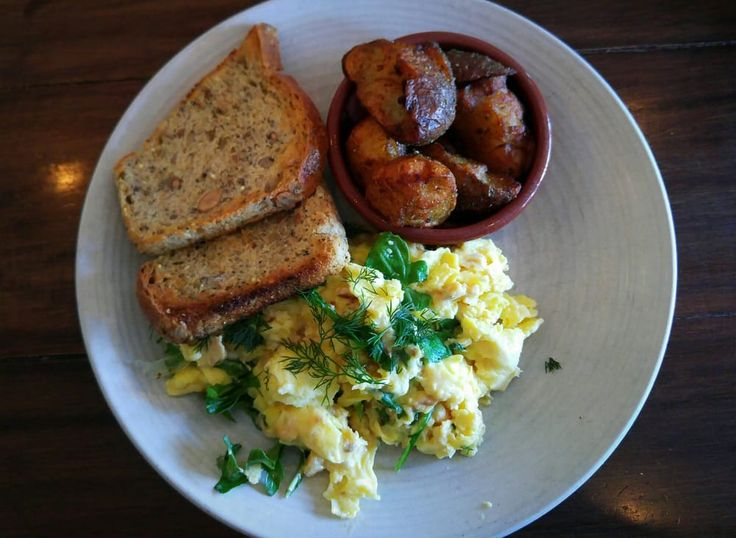 Photo of Lula Cafe - Chicago, IL, United States. Trout Scramble with multigrain & potatoes