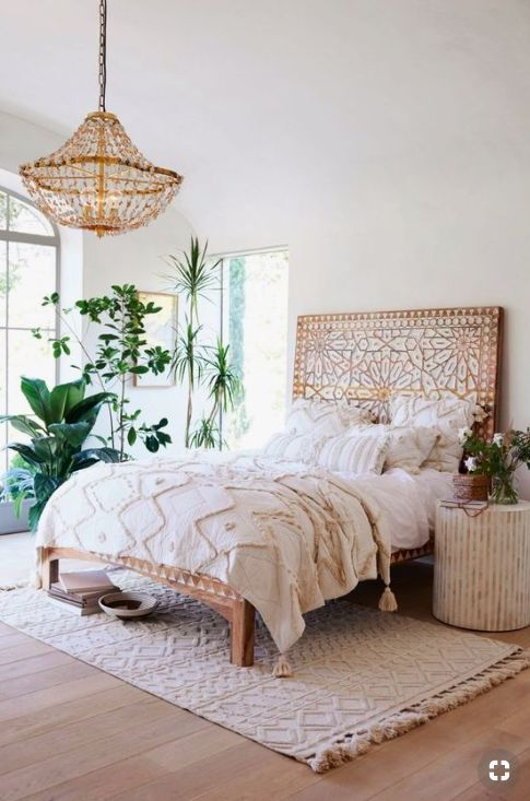 Boho Master Bedroom Ideen, die Sie sehen müssen!