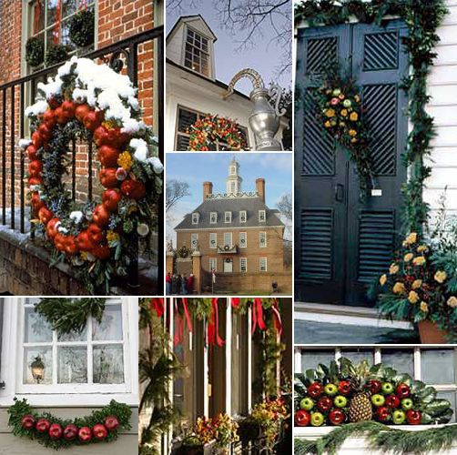 Williamsburg Christmas Decorating Ideas: Williamsburg: A Collection Of Ideas To Try About History