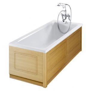 Burlington Traditional Oak 2 Piece adjustable Bath Panels