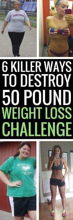 6 best ways to kickstart a 50 pound weight loss journey.
