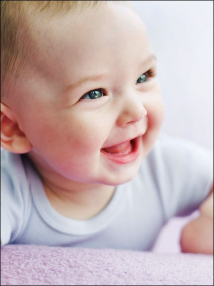 When Do Babies Start Laugh And Smile