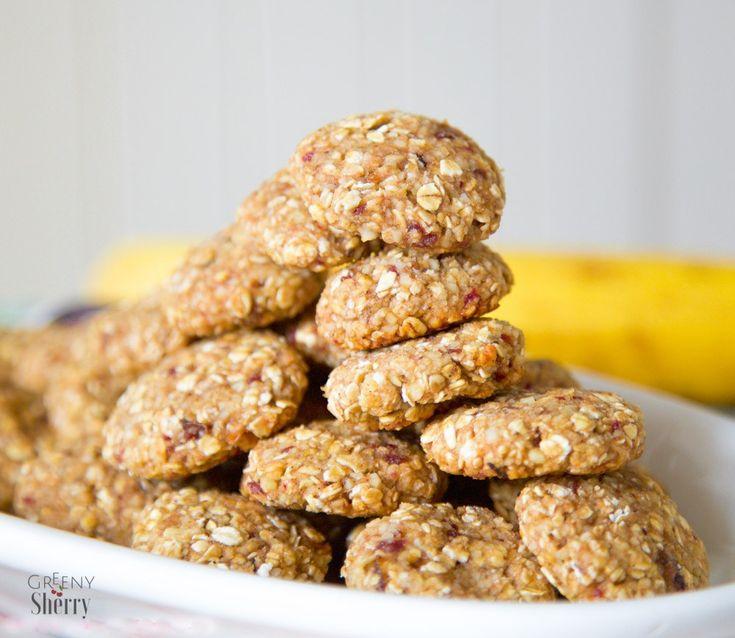 Gesunde Hafer-Kekse - ideal für Kinder (glutenfrei, & vegan & gesund) von www.greenysherry.com