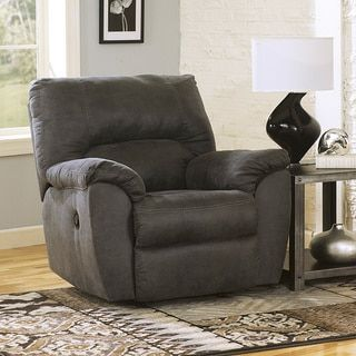 Shop for Signature Design by Ashley Tambo Pewter Rocker Recliner. Get free delivery at Overstock.com - Your Online Furniture Shop! Get 5% in rewards with Club O!