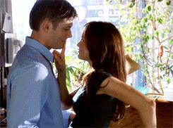 Jensen Ackles and Danneel Harris in Ten Inch Hero