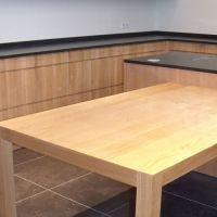 Cuisine bois massif - Cuisine meubles hauts, meubles bas et table en chêne…
