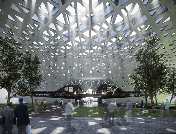 rojkind arquitectos: cineteca nacional del siglo XXI