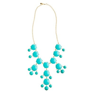 Bubble necklace  $150.00 item92687    We brought it back: the defining J.Crew statement necklace (it's an icon)