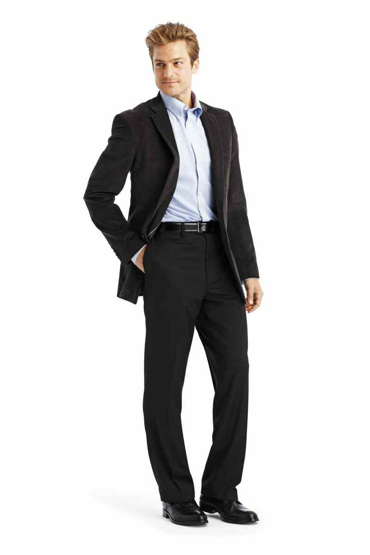 Stafford sport coat dress shirt and dress pants | Men's Dress