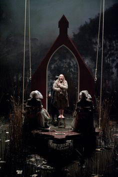Jacob Lenz. English National Opera. Scenic design by Annemarie Woods.