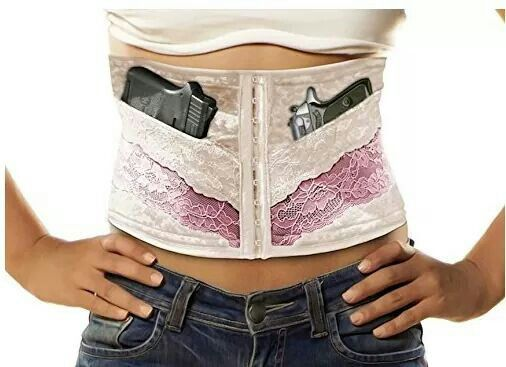 Via Females With Firearms Concealed Carry Corsets