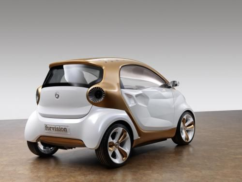 Smart - their new electric car