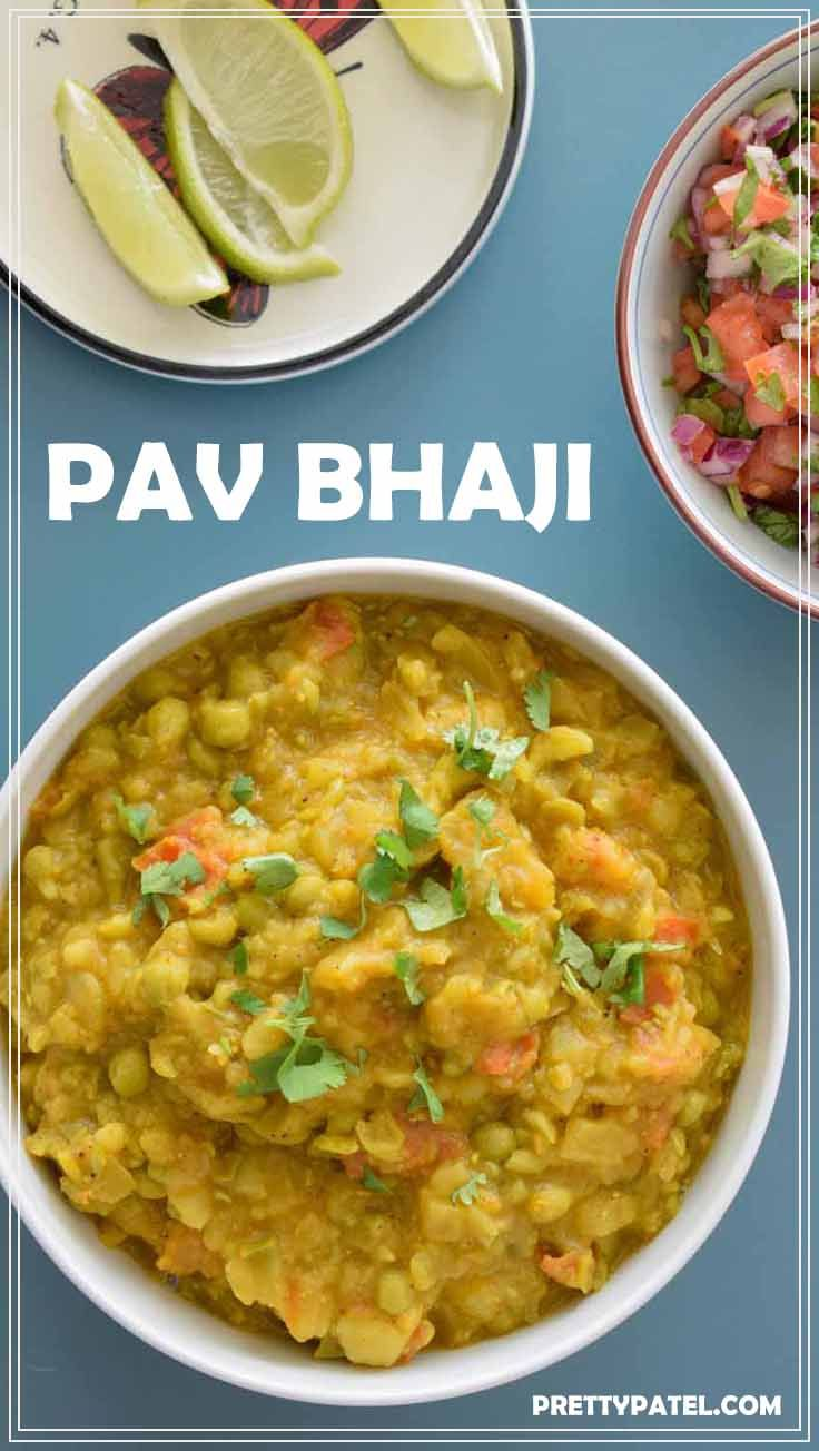 A quick and easy Pav bhaji recipe including how to make the masala. You need to try this popular Mumbai street food recipe. It's vegan friendly and super tasty.   via @pretty_patel