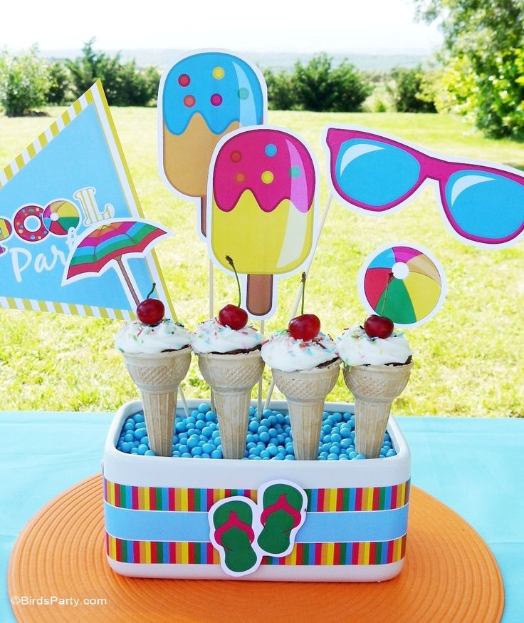 Beach Party Decorations Diy: 211 Best Images About Strandfeest