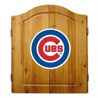 Found it at Wayfair - Imperial MLB Team Logo Complete Dart Cabinet Set - MLB Team: Chicago Cubs