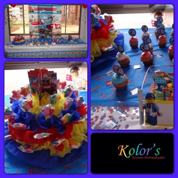 Fiesta Multicolor personalizada!!! Fiestas únicas con tu sello propio...