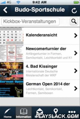 Budo-Sportschule  Android App - playslack.com ,  Die App der Budo-Sportschule ist ideal für alle Schüler/innen und Mitglieder der Budo-Sportschule Stuttgart. Sie bietet umfangreiche Informationen zu unseren praktizierten Kampfsportarten und darüber hinaus hat man immer alle Termine im Überblick. Durch die Push-Benachrichtigungen werden alle, die diese Funktion auf Ihrem Gerät zulassen, selten - aber sicher - rechtzeitig VOR wichtigen Ereignisssen von uns daran erinnert. In der aktuellen…