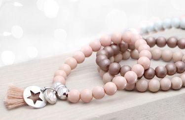 Gave blogs over het maken van sieraden!