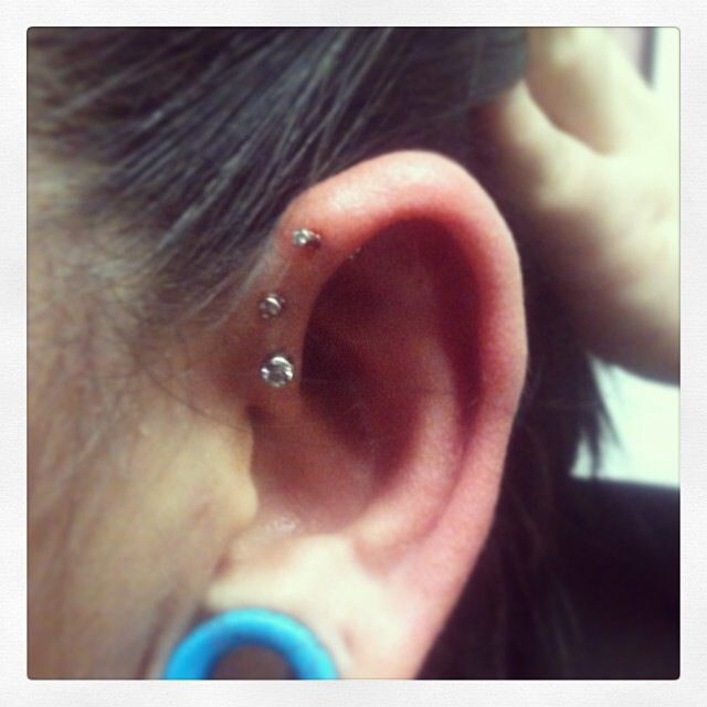 Triple helix by Eric Holmes.