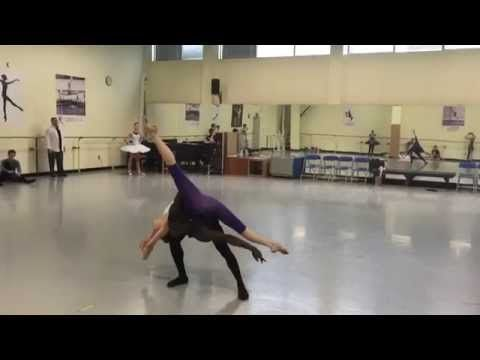 Chloe & Zac- Contemporary Pas de Deux - YouTube A work in progress!