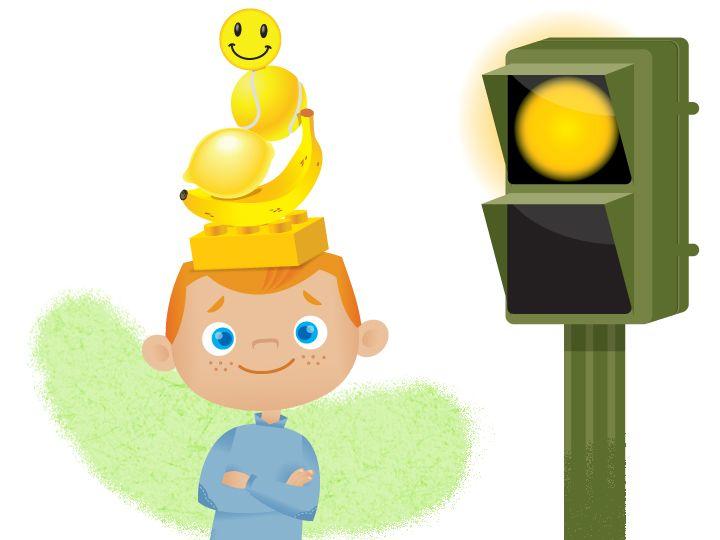 Seguridad Vial. El amarillo