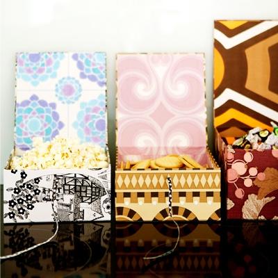 wallpaper boxes.