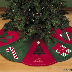 Magnolias, Marriage and Manhattan: The Preppy Christmas Tree Skirt