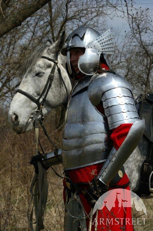 Polish hussar plate armour